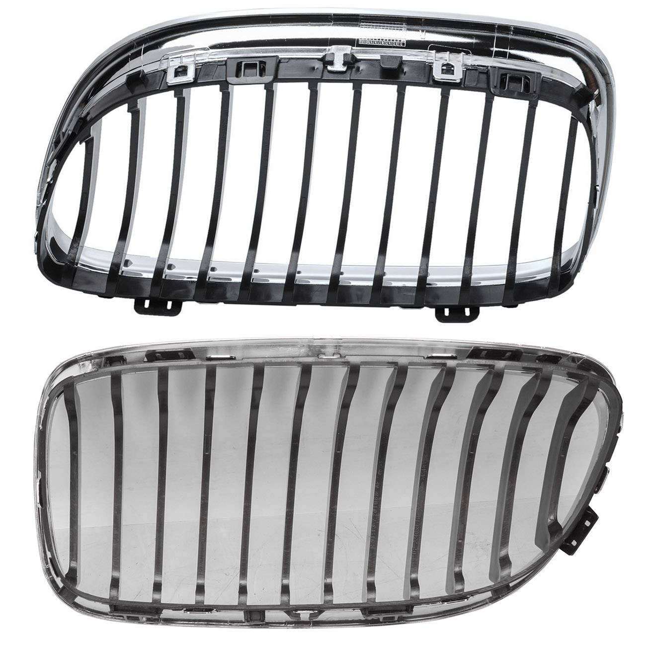 Bapmic-Set-Grill-Kidney-Grill-Left-Right-for-BMW-E90-320d-325-330-335i thumbnail 2